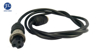 China 1M GX16 Aviation Cable 3 Pin Male To Female For Car Camera Video supplier