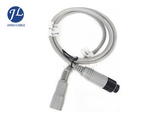 China Rear View Backup Camera Cable With 6 Pin Shieled Connector Strong Conductivity supplier