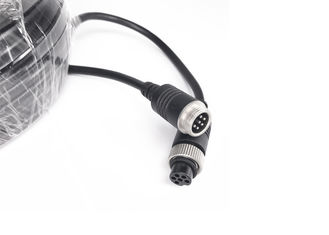 China OEM Waterproof Eletrical Extension Video 6 Pin Cable for Car Reserving Camera supplier