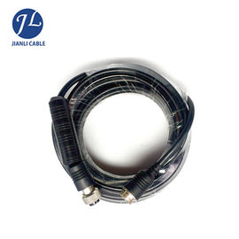 Male To Male Rear View Camera Cable , 4 Pin Rear Backup Plug Aviation Reversing Camera Trailer Cable