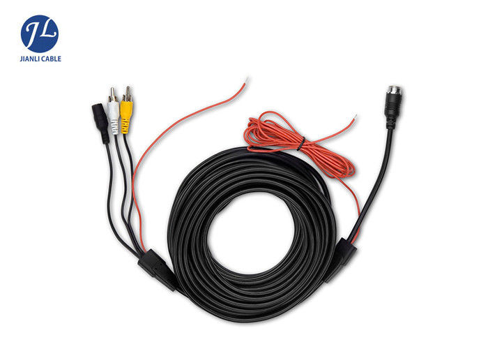 6m Rca Video Cable For Car Rear View Backup Camera Bus