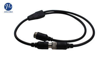 China Waterproof Male To Female 4 Pin S Video Cable For Night Vision Surveillance CCTV System factory