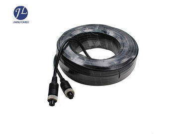 China Car Backup Camera Extension Cable With 5 Pin Screw Aviation Connector factory