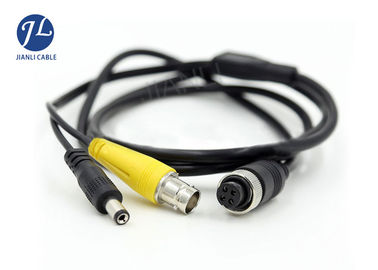China Yellow color RGU59 BNC RCA cable , BNC coaxial Cable for DVR Monitor System factory