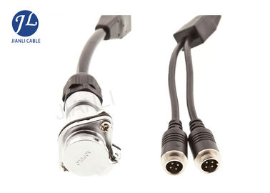 China CCTV DVR Dual Camera Extension Cable For Cars 7PIN Trucks to Trailers Caravans factory