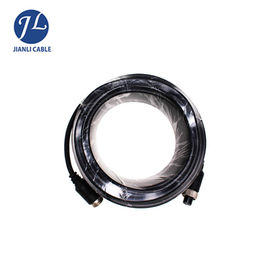 China 26 Awg Durable Backup Camera Extension Cable M12 4 Pin Aviation Connector distributor