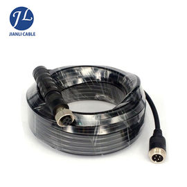China Customize 4Pin Waterproof  IP67 12MM Male To Male Extension Cable For Heavy Duty Vehicles Camera distributor